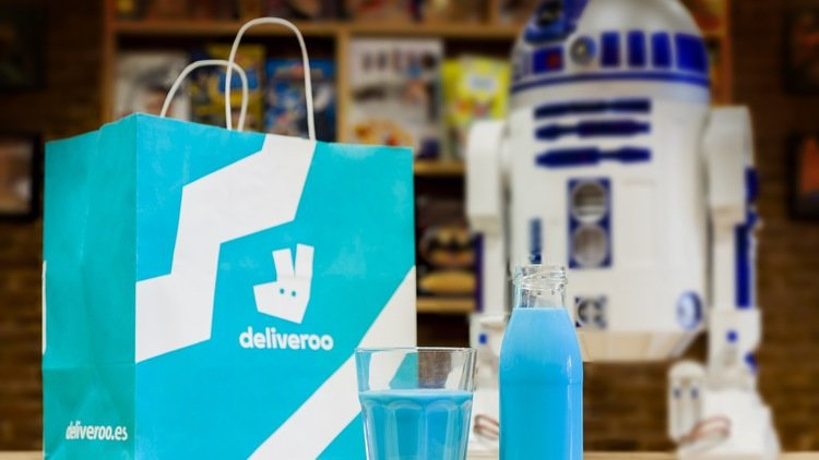 chewbacca hot chocolate deliveroo latte blu