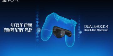 PlayStation 4 Dualshock 4 Back Button