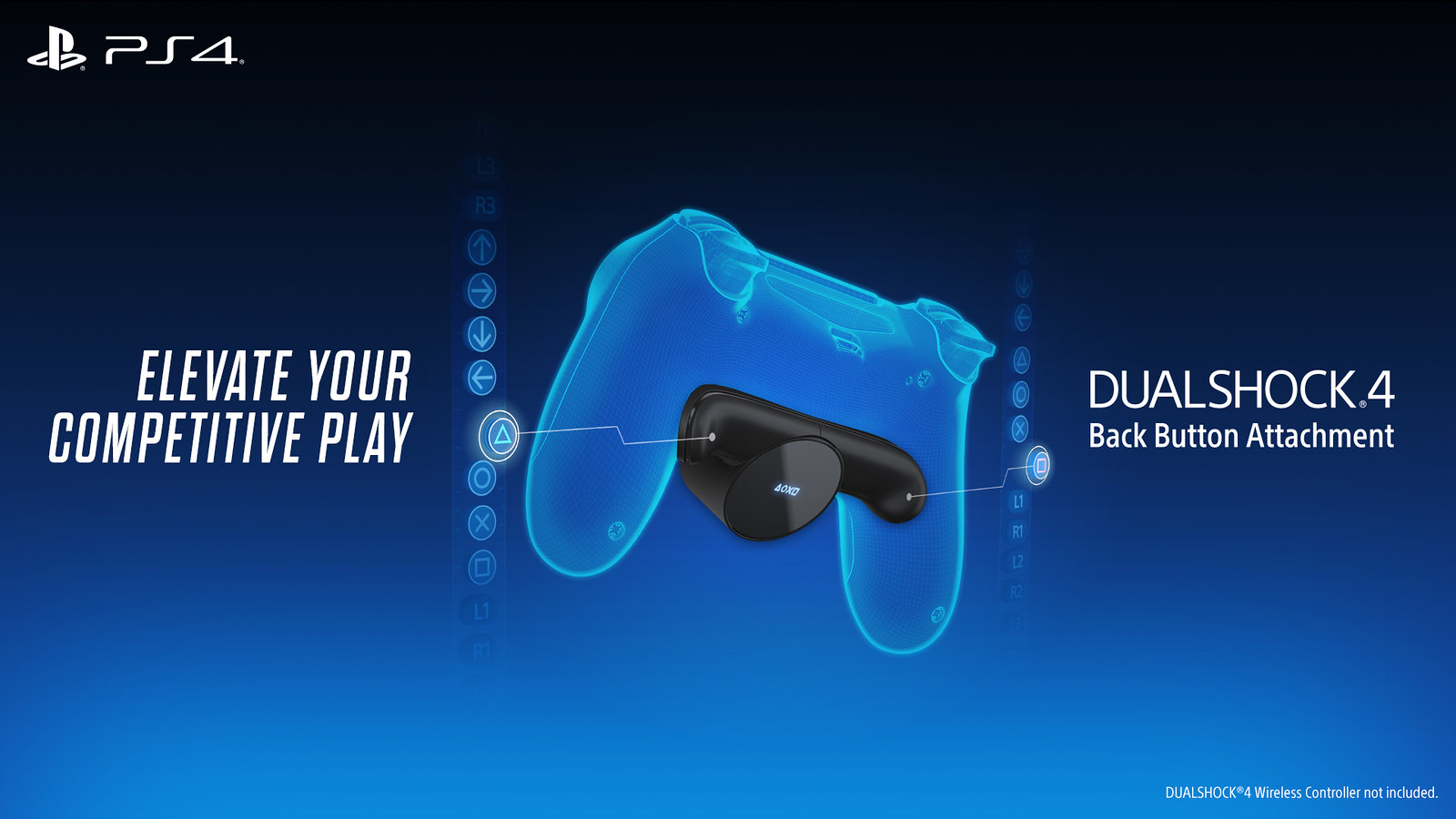 PlayStation 4: presentato il nuovo accessorio Dualshock 4 Back Button thumbnail