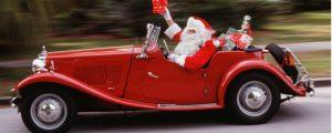 L'auto di Babbo Natale: quale potrebbe essere?