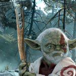 baby yoda-star wars-god of war