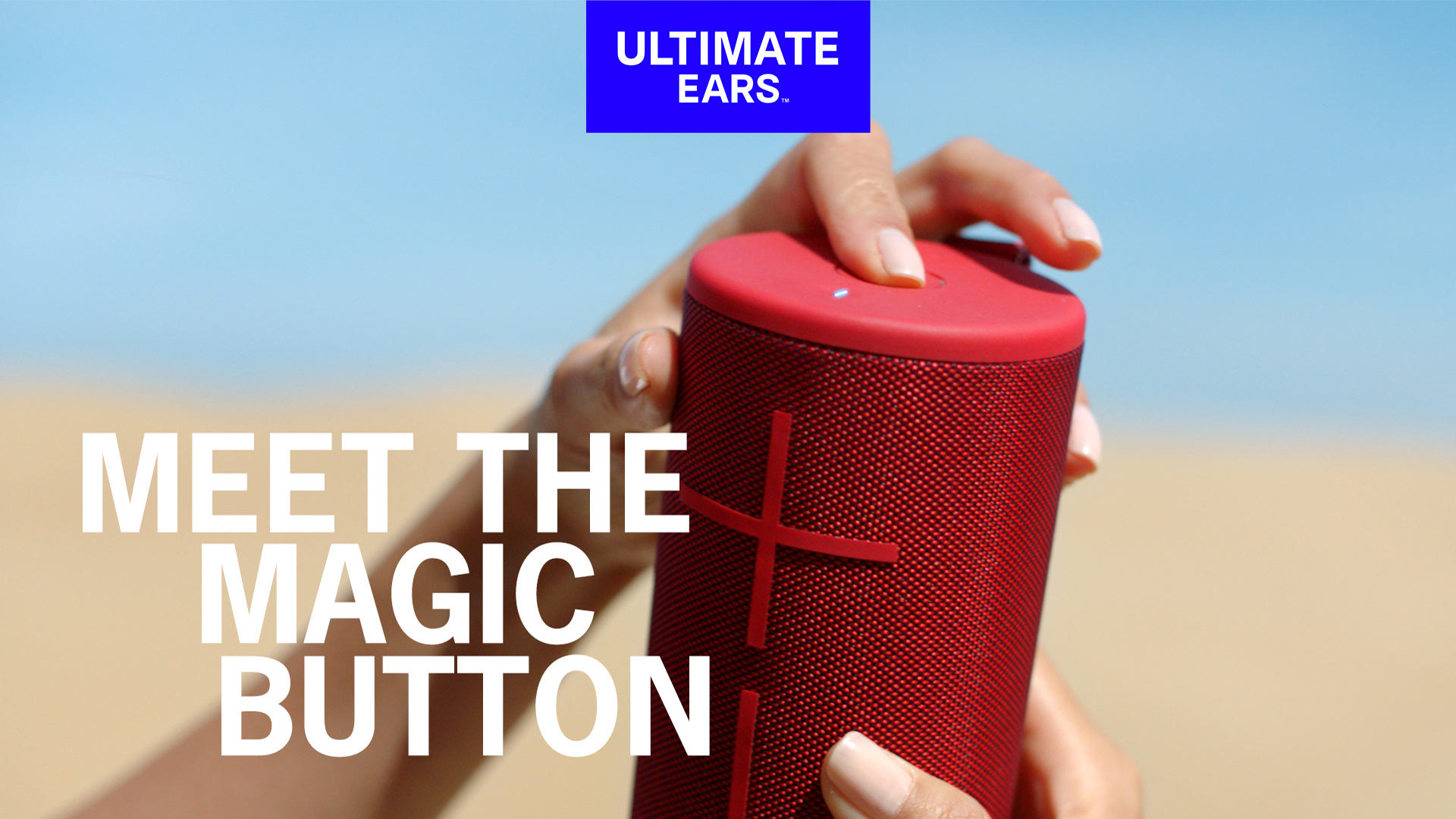 ultimate ears magic button