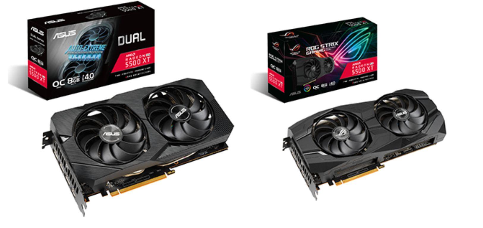 ASUS: ecco le schede video ROG Strix e Dual Radeon RX 5500 XT thumbnail