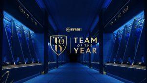 FIFA 20: come scegliere la Squadra dell'Anno