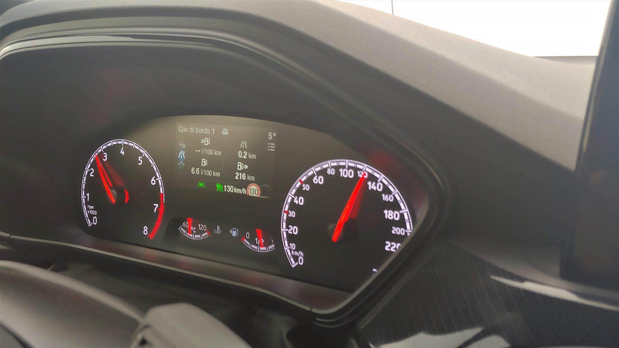 Ford Focus ST Consumi