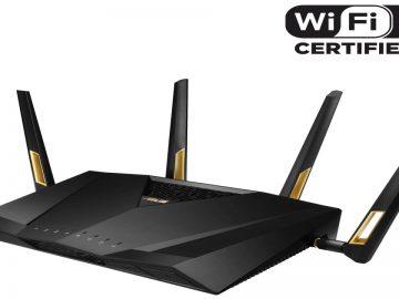 ASUS RT-AX88U WiFi Certified 6 Logo