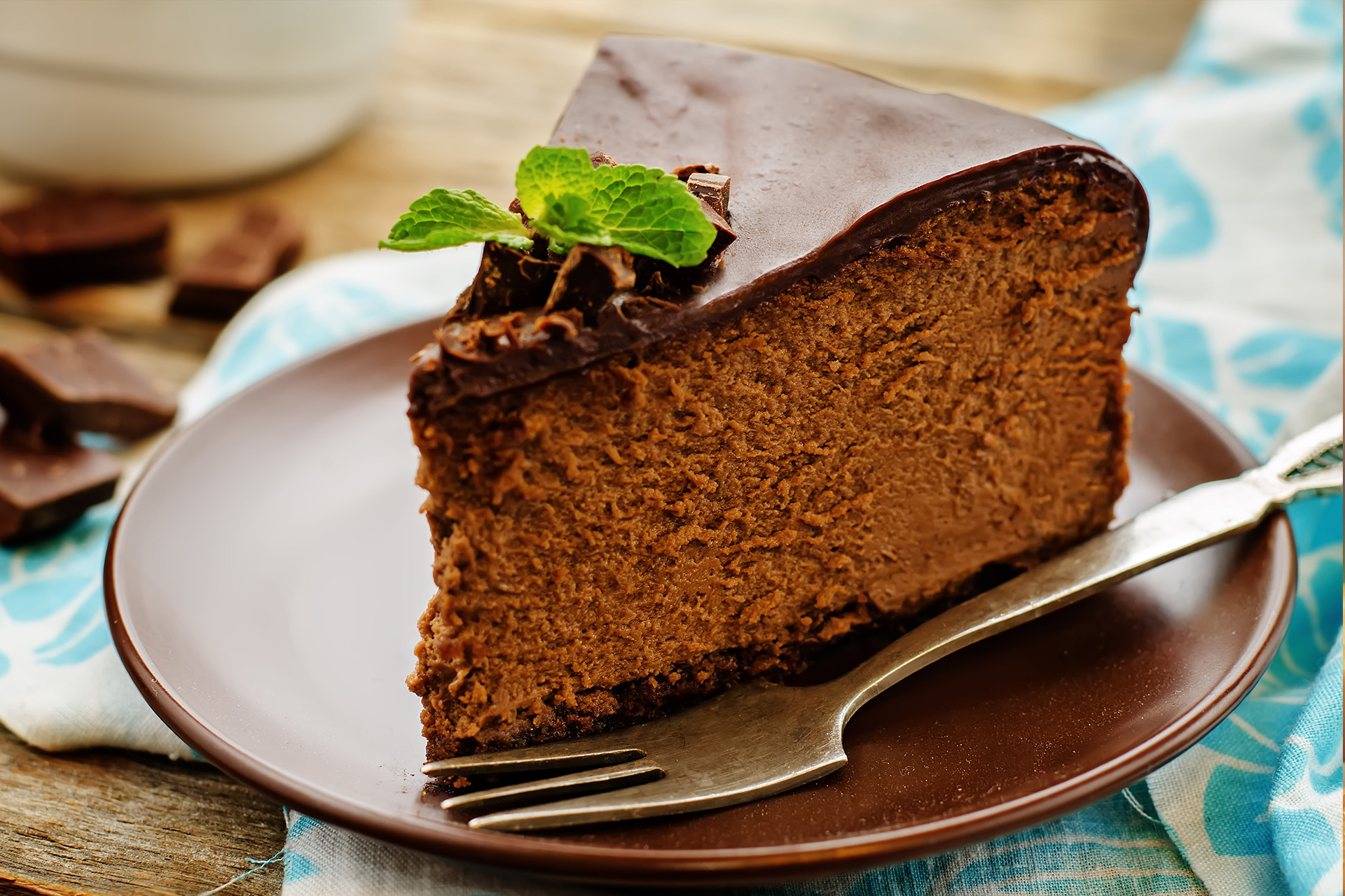 Vergine - Chocolate Cheese cake