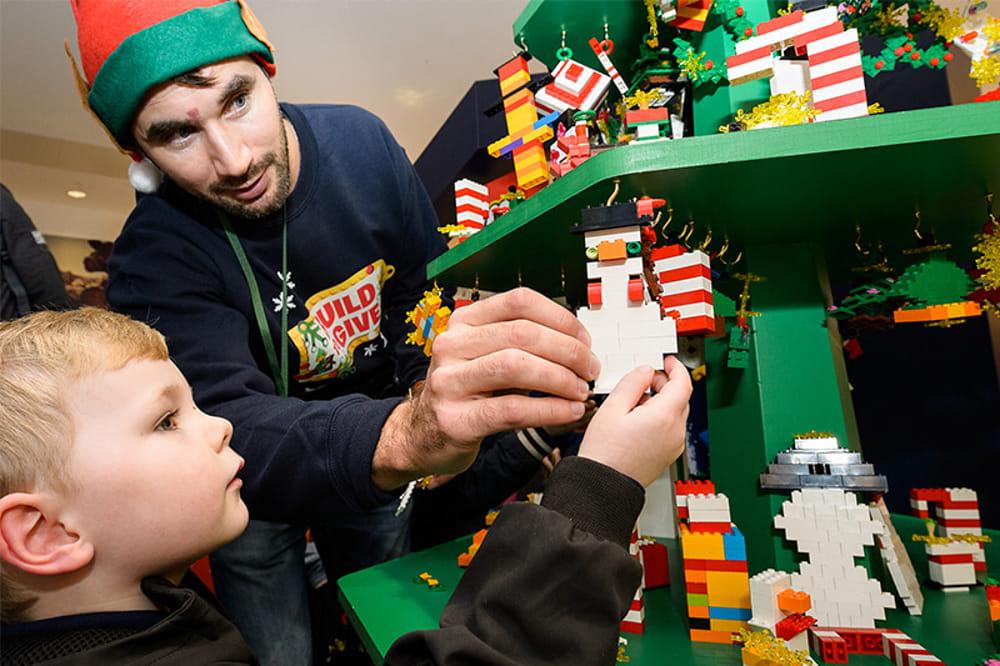 LEGO Build to Give bambini milano