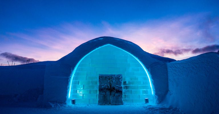 icehotel celebra trent'anni
