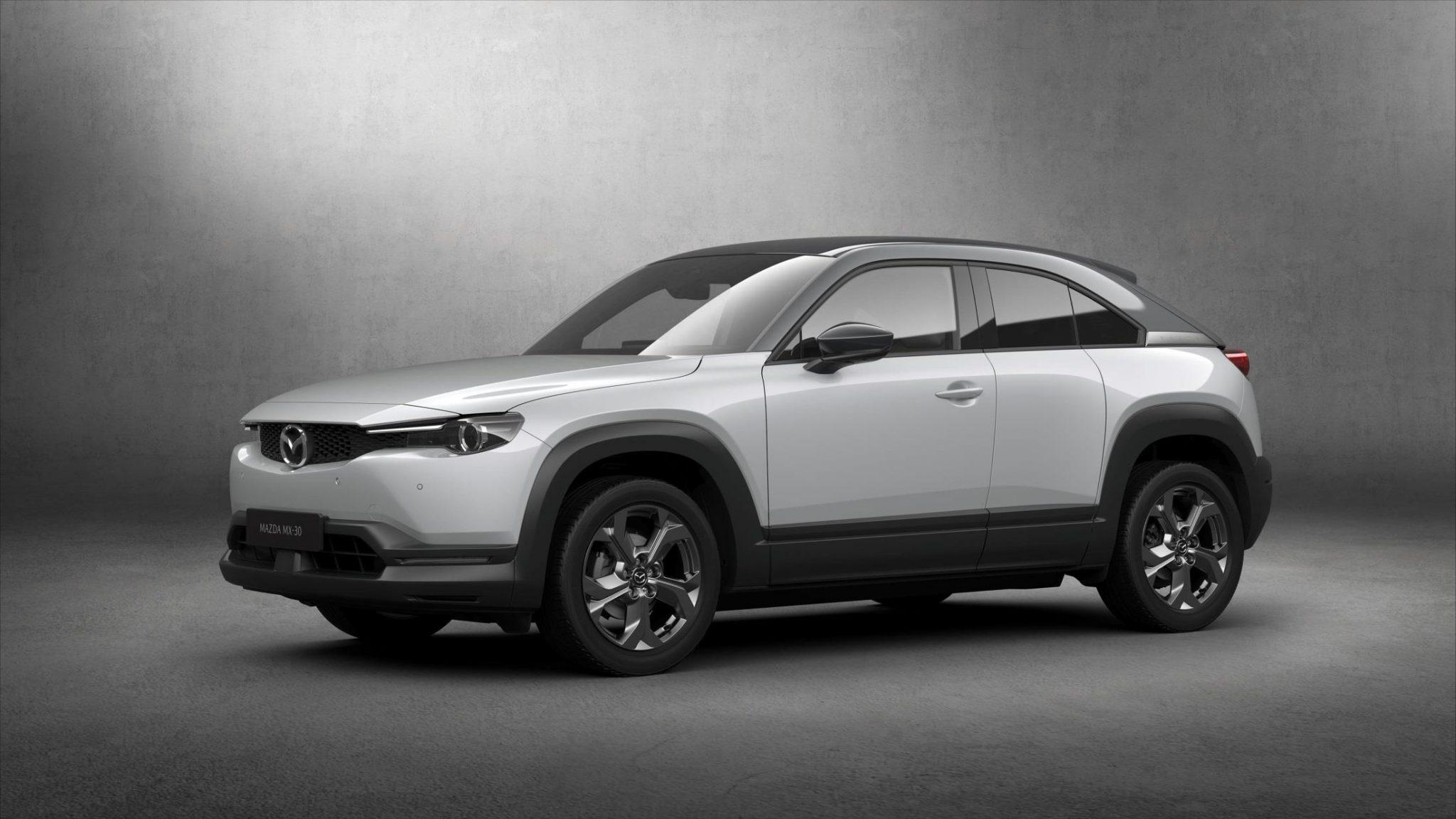 Mazda MX-30: debutta il crossover elettrico per la città thumbnail