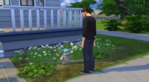 The Sims 4: il nuovo aggiornamento aggiunge Baby Yoda