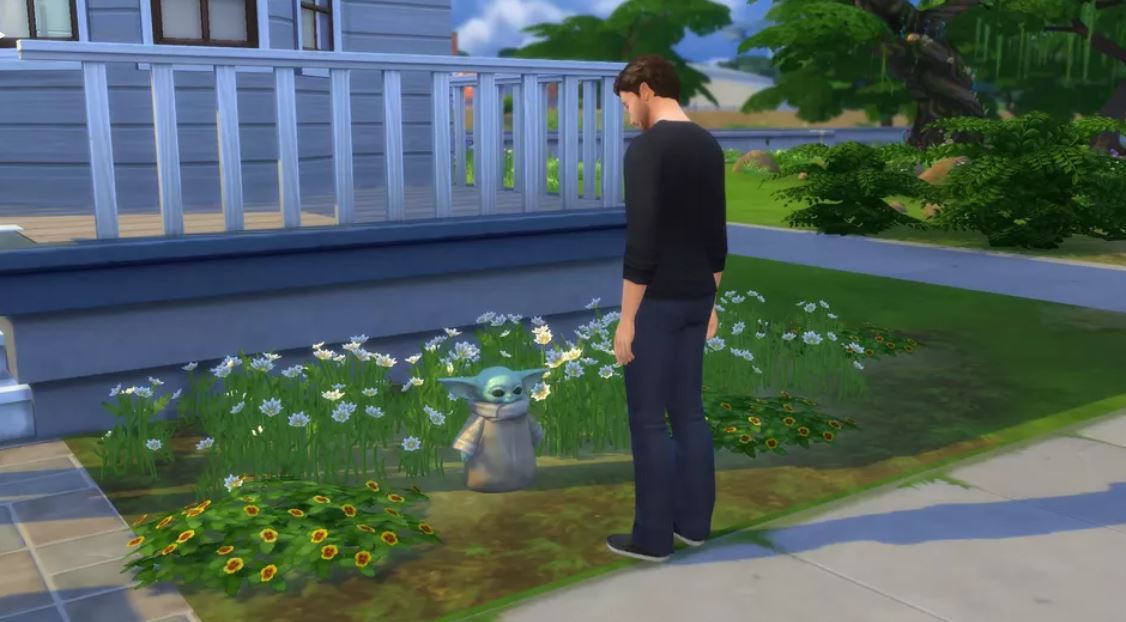 The Sims 4: il nuovo aggiornamento aggiunge Baby Yoda thumbnail