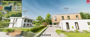 Vario Haus presenta il primo parco 3D di case in legno