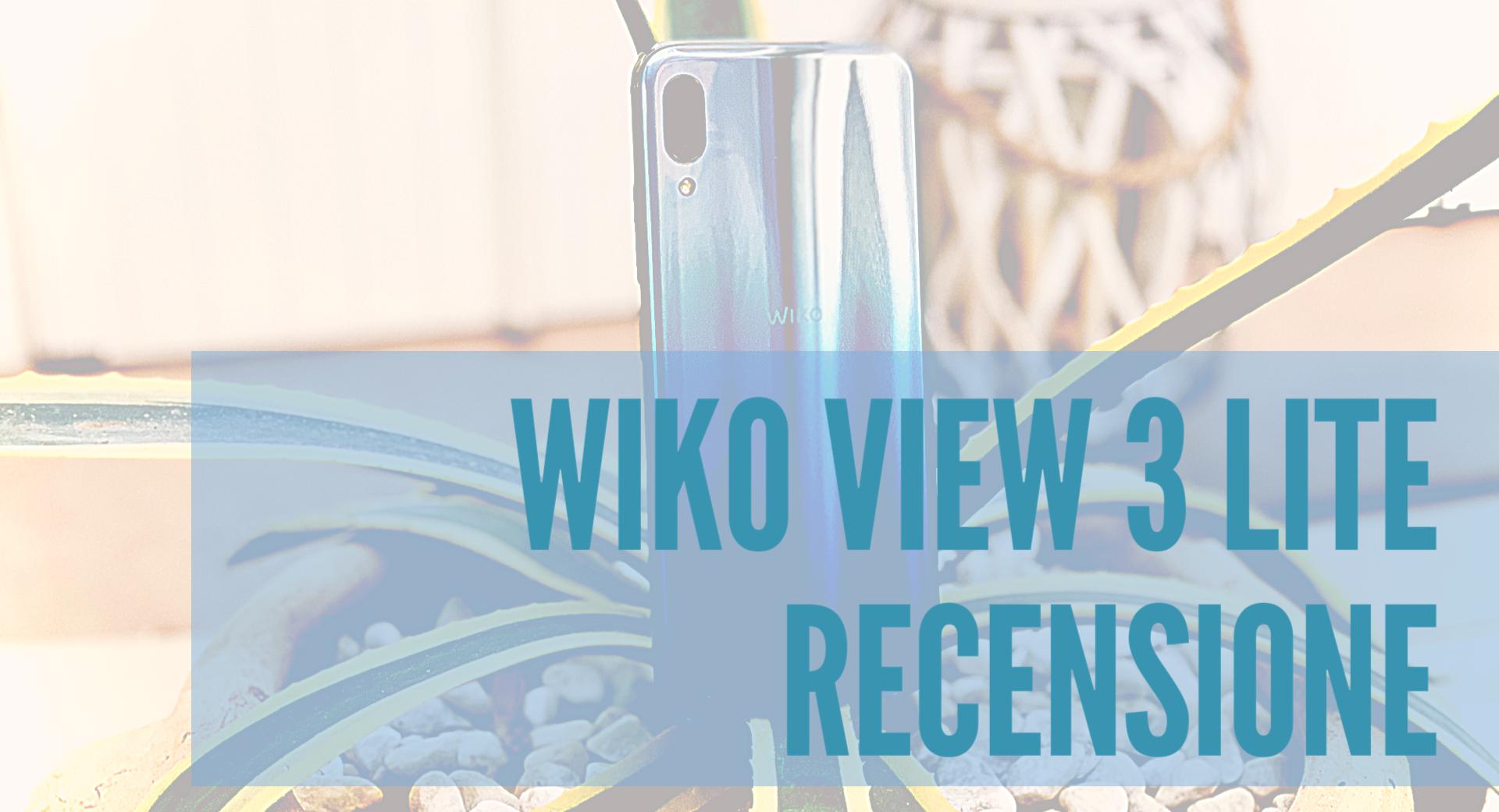 Wiko View 3 Lite recensione: un entry level dal design accattivante thumbnail