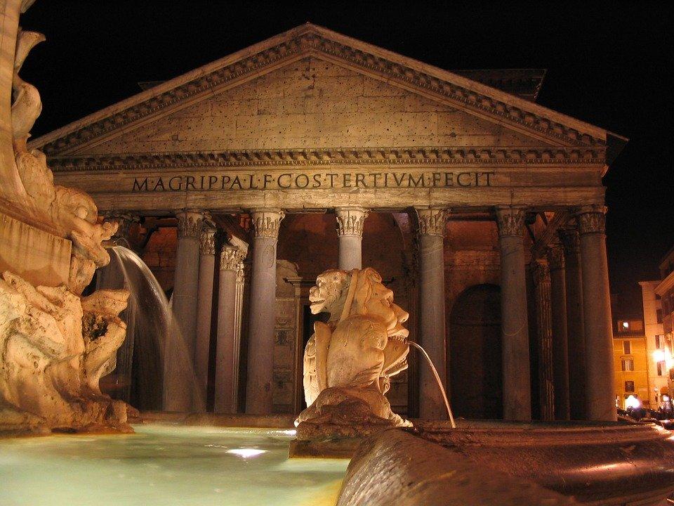 raffaello viaggio anniversario Roma _ Pantheon