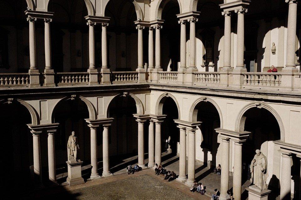 raffaello viaggio anniversario Milano _ pinacoteca di Brera