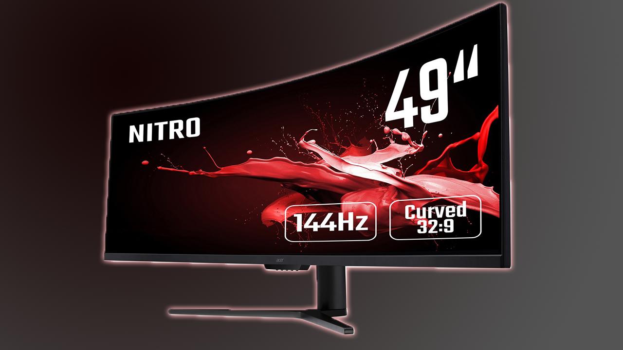 """Acer Nitro EI491CRP recensione: un monitor gaming curvo da 49"""" in formato 32:9 thumbnail"""