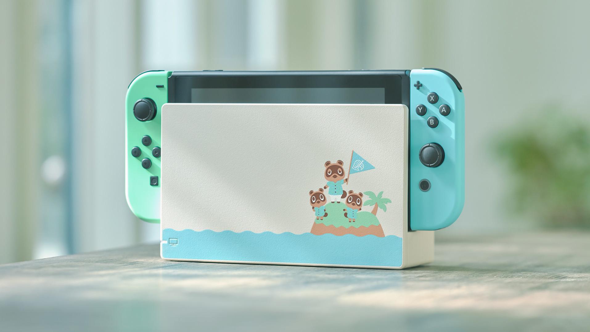 Animal Crossing: in arrivo una Nintendo Switch a tema thumbnail