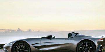 Aston Martin V12 Speedster produzione