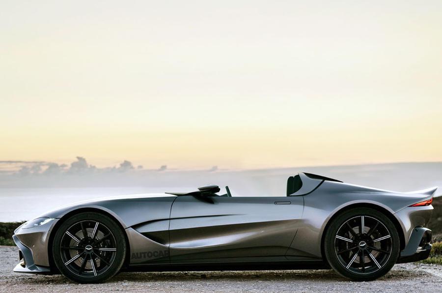 Aston Martin V12 Speedster verrà prodotta in edizione limitata thumbnail