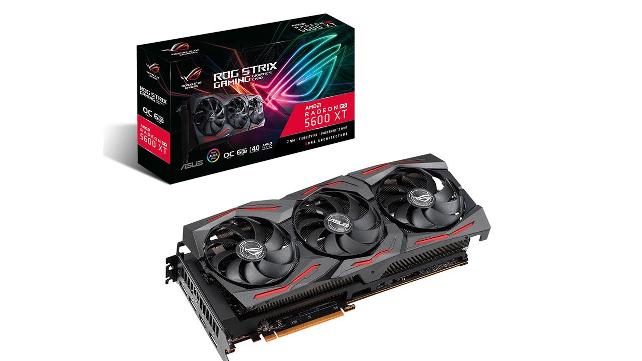Radeon RX 5600 XT: AMD svela i dettagli e ASUS tre nuovi modelli thumbnail