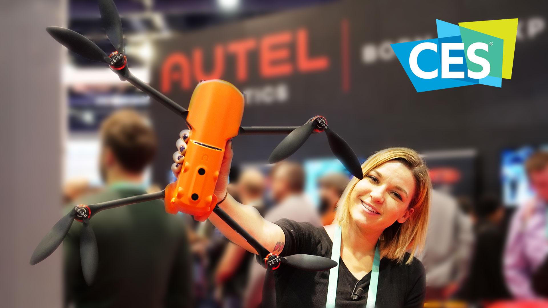 Autel EVO II: il vero concorrente di DJI Mavic 2? | CES 2020 thumbnail