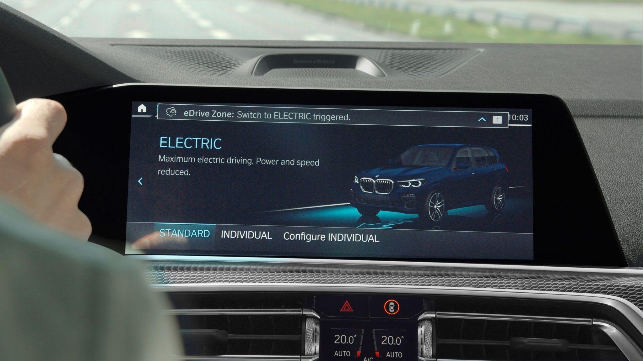 Auto ibride BMW eDrive