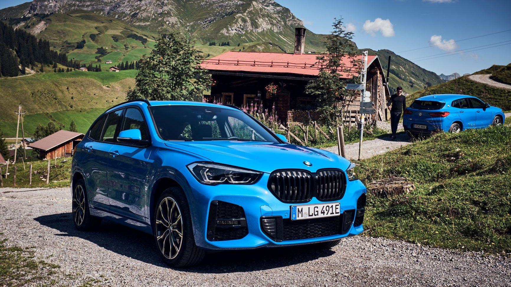 """BMW X1 xDrive25e e X2 xDrive25e: i due SUV diventano """"alla spina"""" thumbnail"""