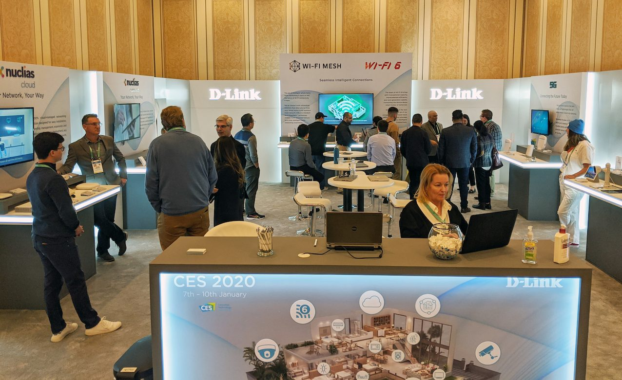 D-Link porta le sue connessioni intelligenti al CES 2020 thumbnail