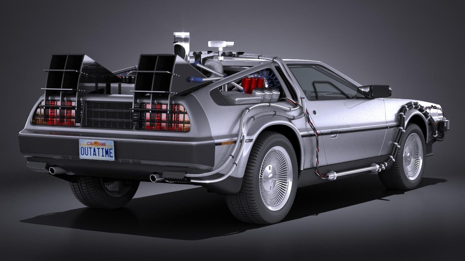DeLorean DMC-12 Flusso canalizzatore
