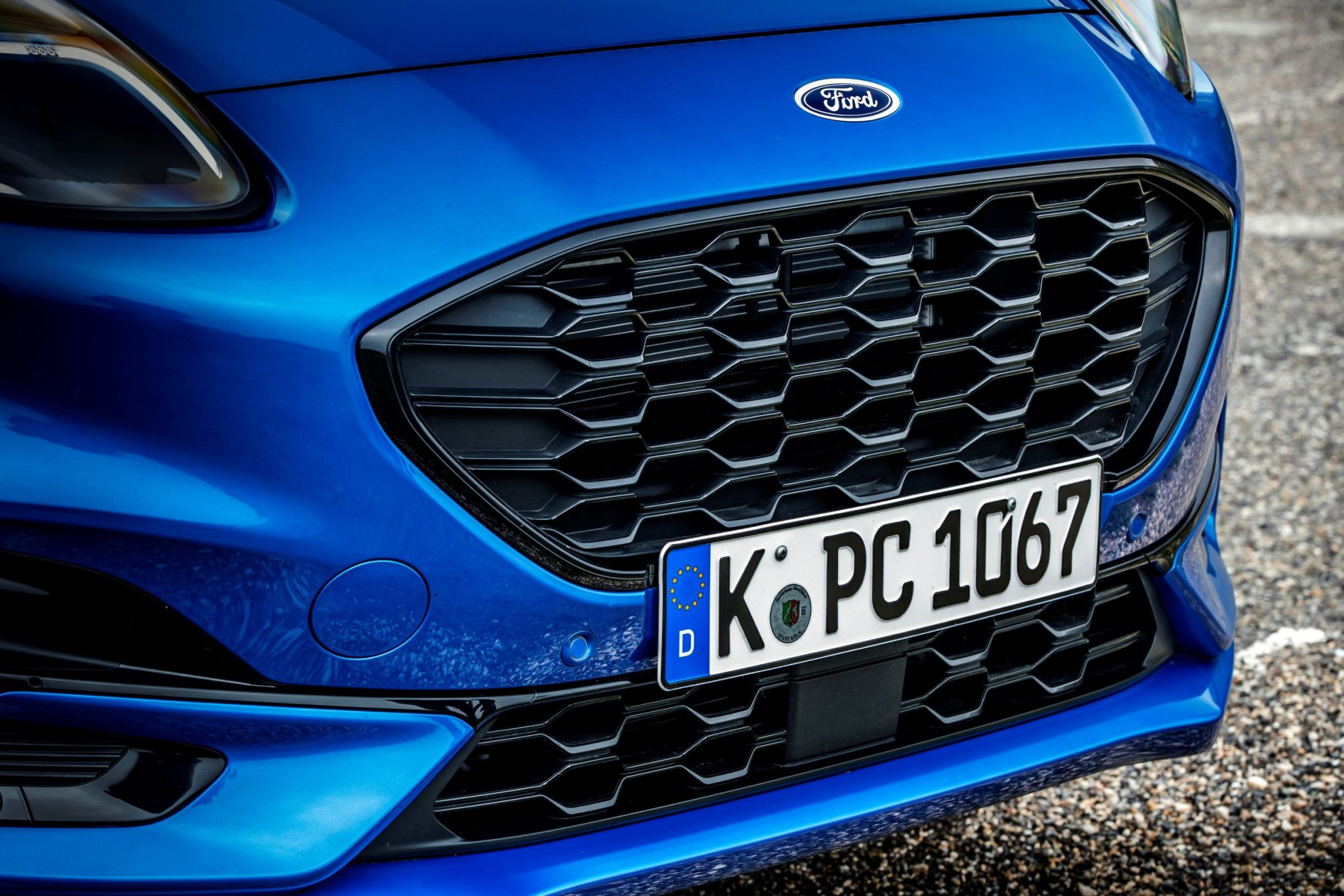 Ford Puma presa d'aria