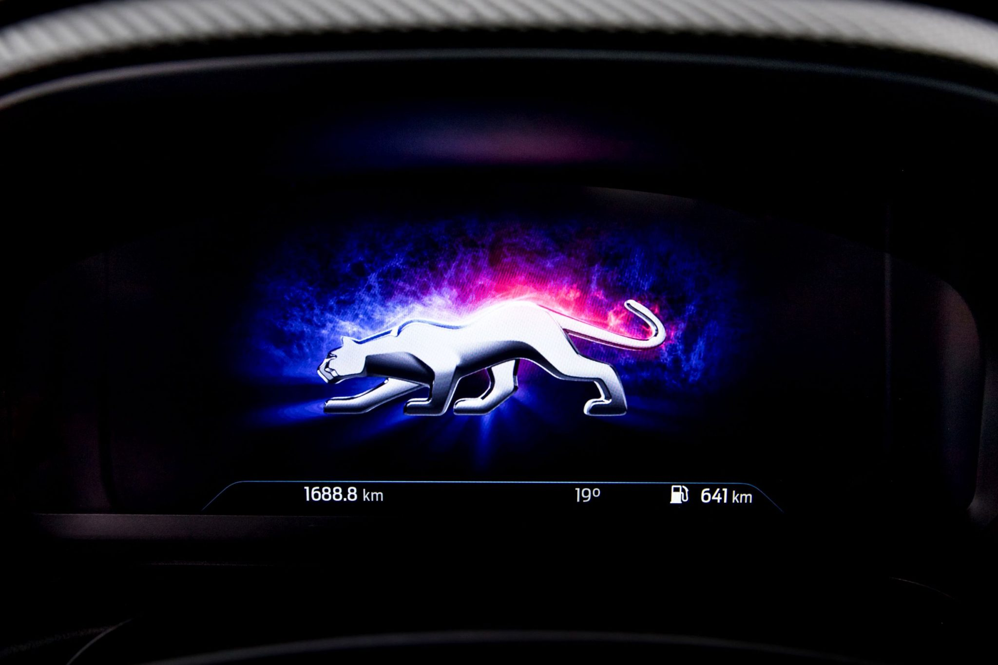 Ford Puma schermo digitale
