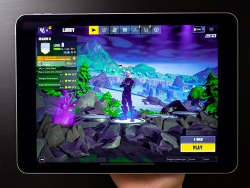 Fortnite: Ipad Pro 120 fps