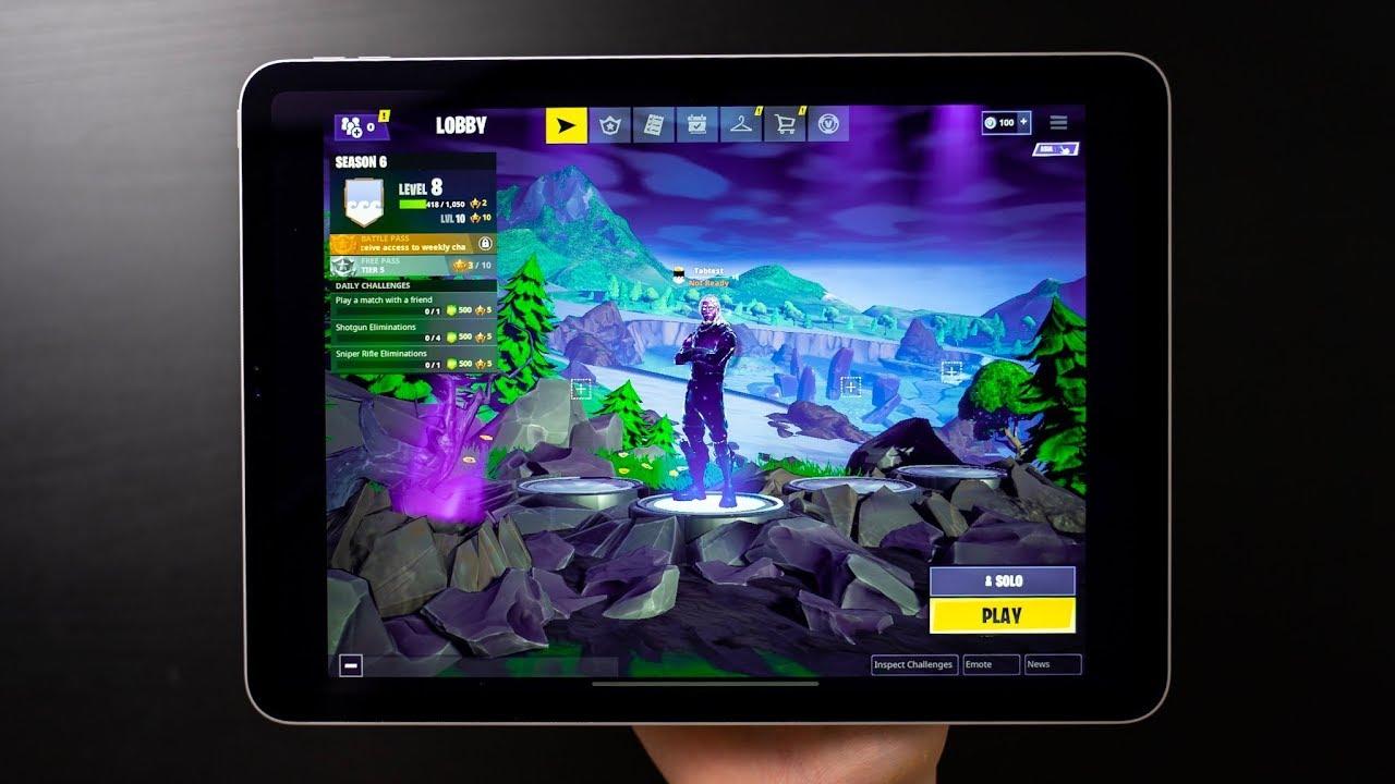Fortnite: iPad Pro ora è in grado di riprodurre il gioco a 120 FPS thumbnail