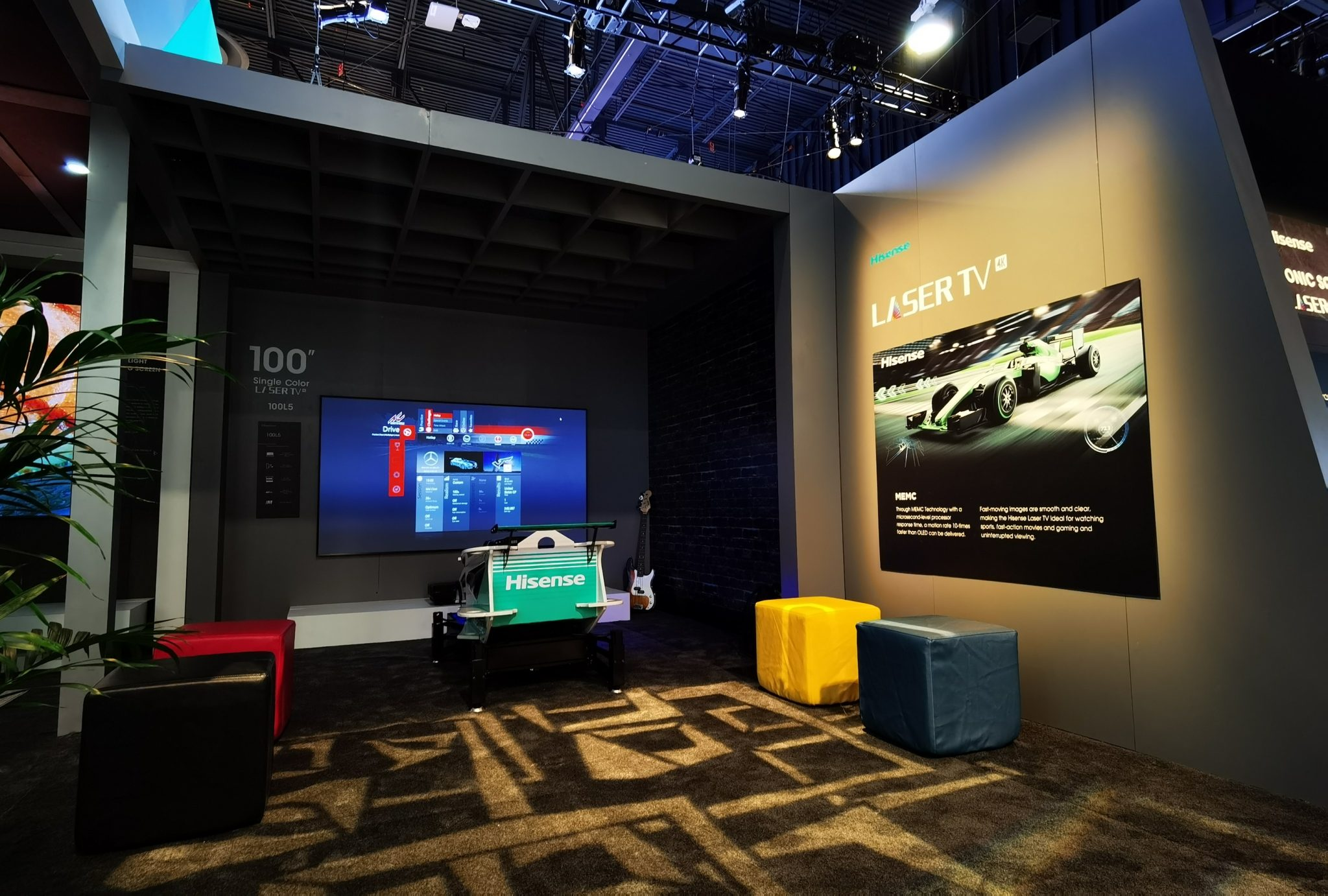 Hisense punta su suono, immagine e forme con le Laser TV al CES 2020 thumbnail