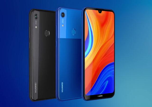 Huawei Y6s-black-blue