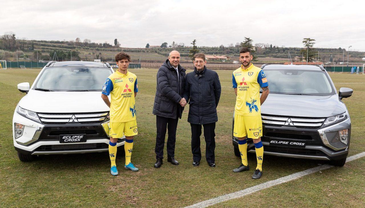 Mitsubishi Motors a sorpresa è First Partner dell'A.C. ChievoVerona thumbnail