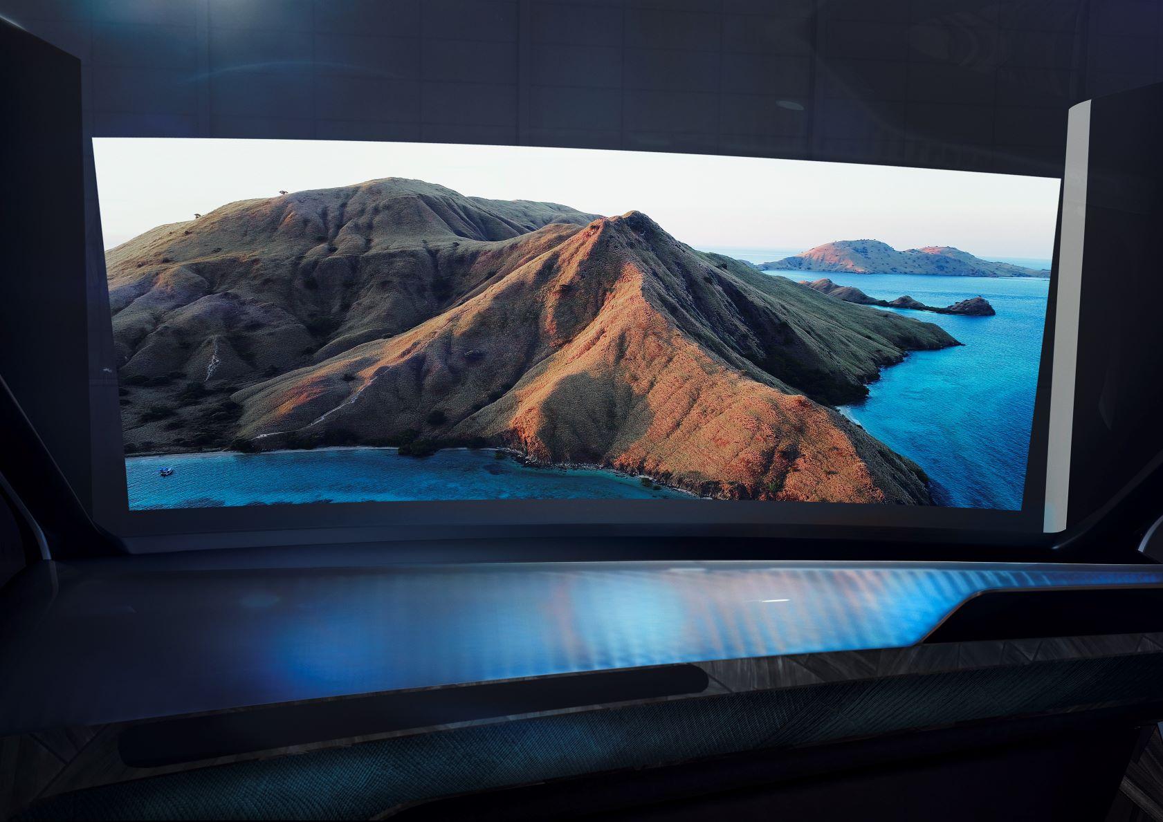 Novità BMW i Interaction Ease schermo intero