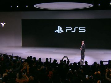 PlayStation 5 data logo CES 2020