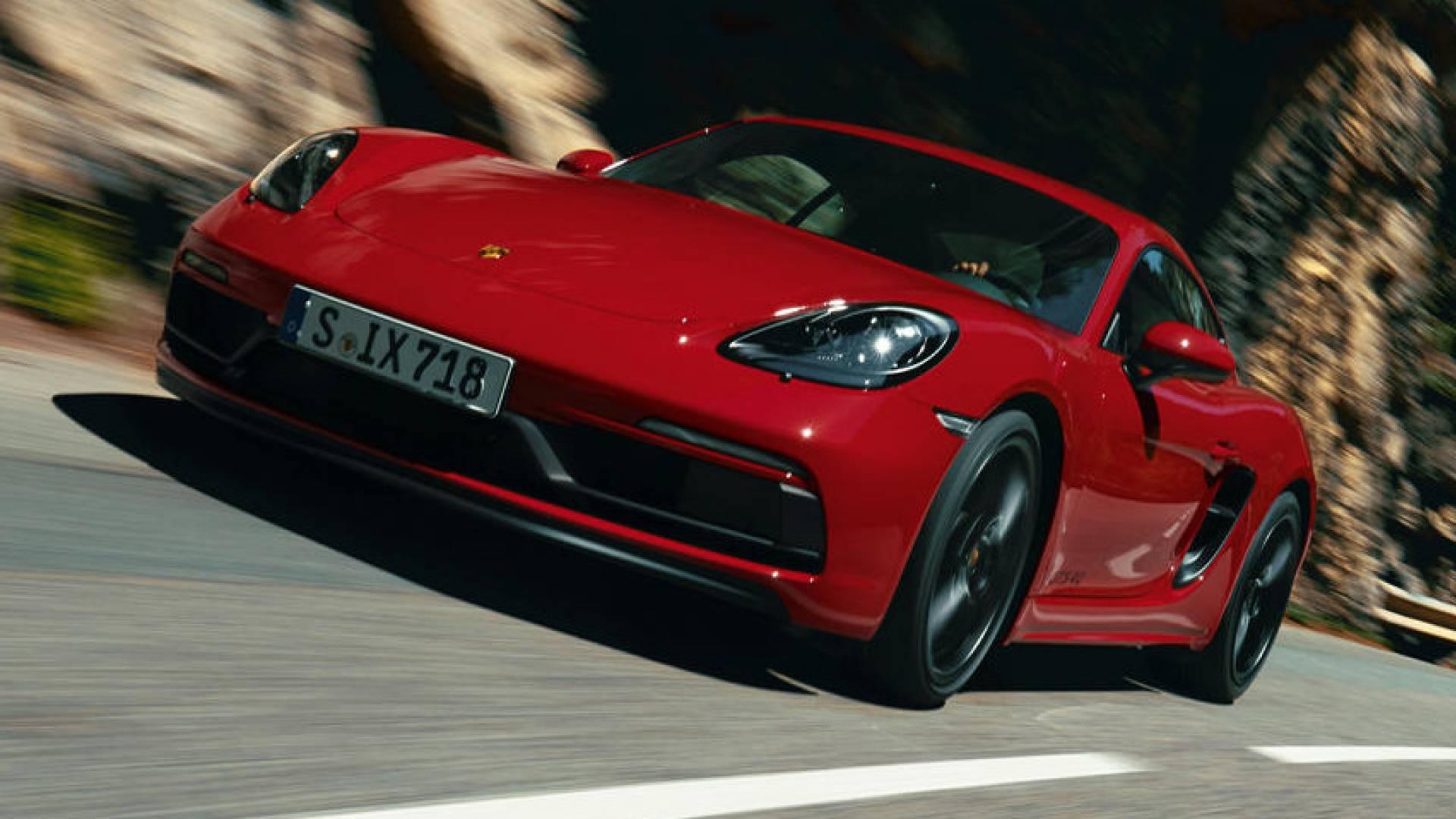 Porsche 718 Cayman e Boxster GTS 4.0: torna il flat-six thumbnail
