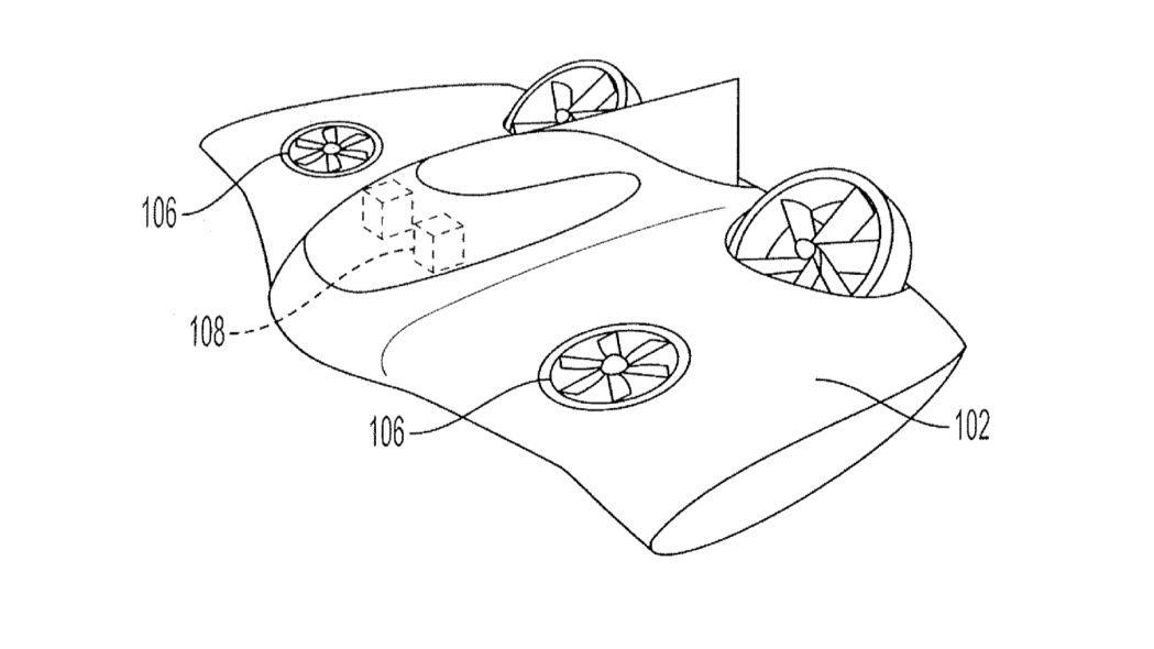 La Porsche volante non è fantascienza: depositati i brevetti thumbnail