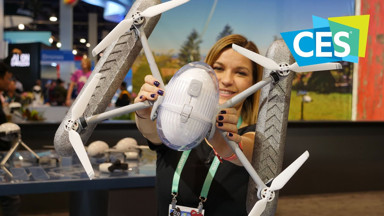PowerEgg X, il drone-videocamera potenziato dall'intelligenza artificiale thumbnail