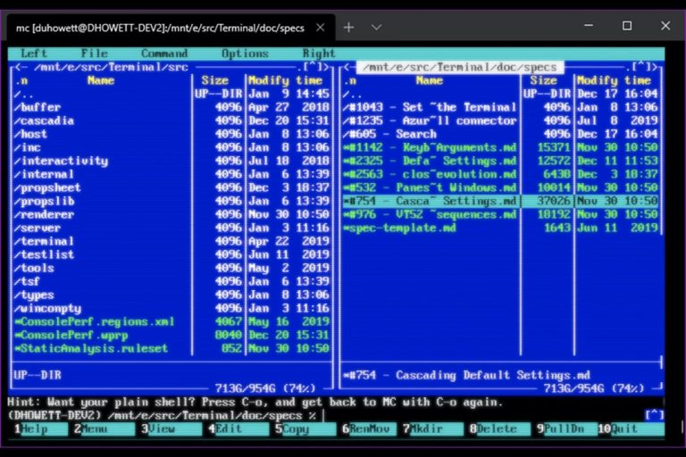 Terminale Windows