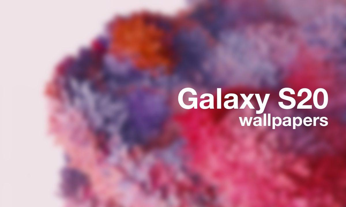 Samsung Galaxy S20: ecco qui gli sfondi da scaricare thumbnail