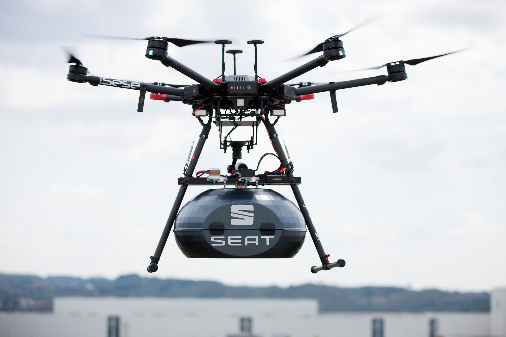 SEAT CES 2020 drone