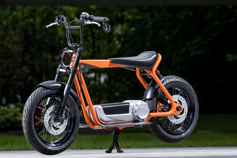 Scooter elettrico harley-davidson