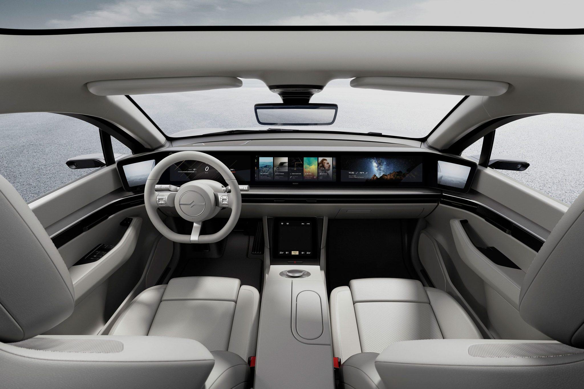 Sony Vision-S interni