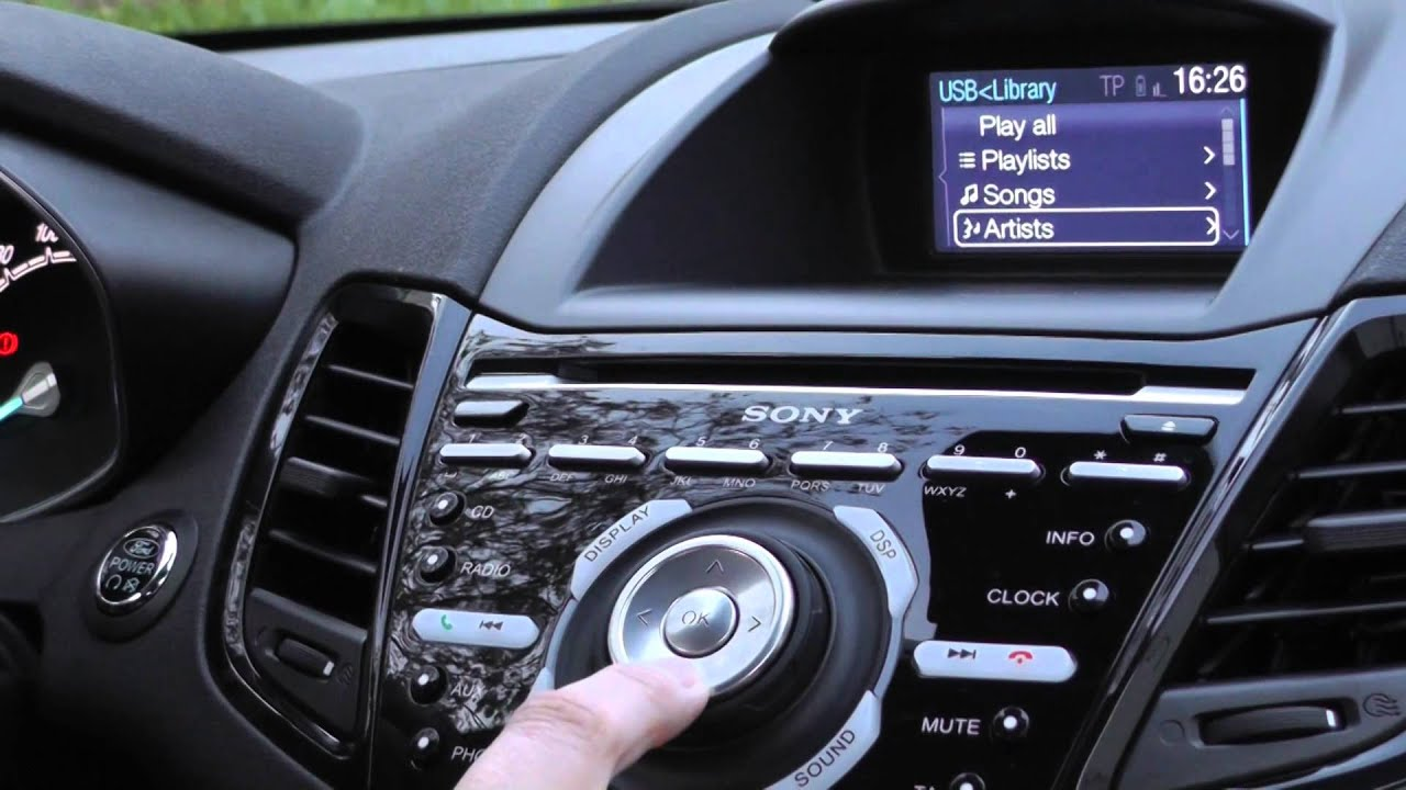 Sony Vision S radio ford