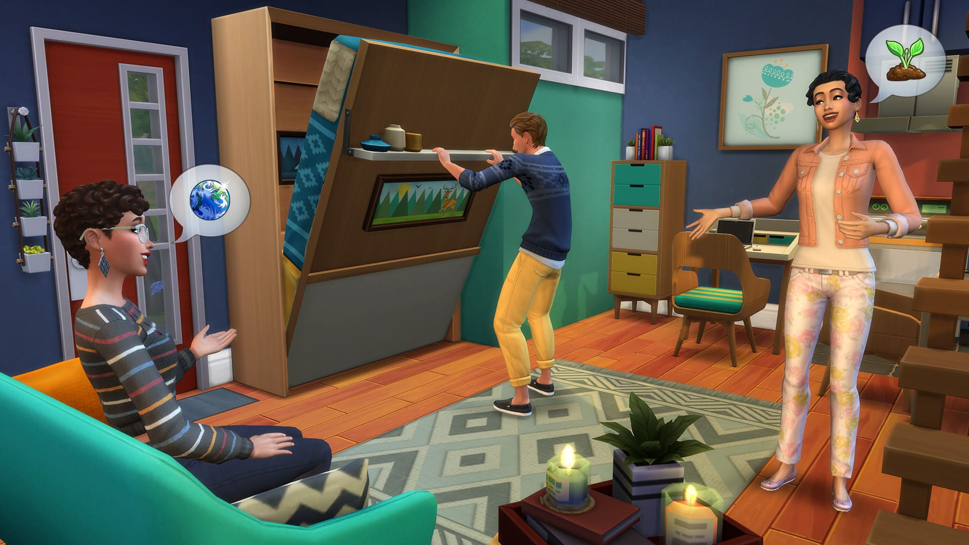 The Sims 4 Mini Case: annunciato il nuovo Stuff Pack con un trailer thumbnail
