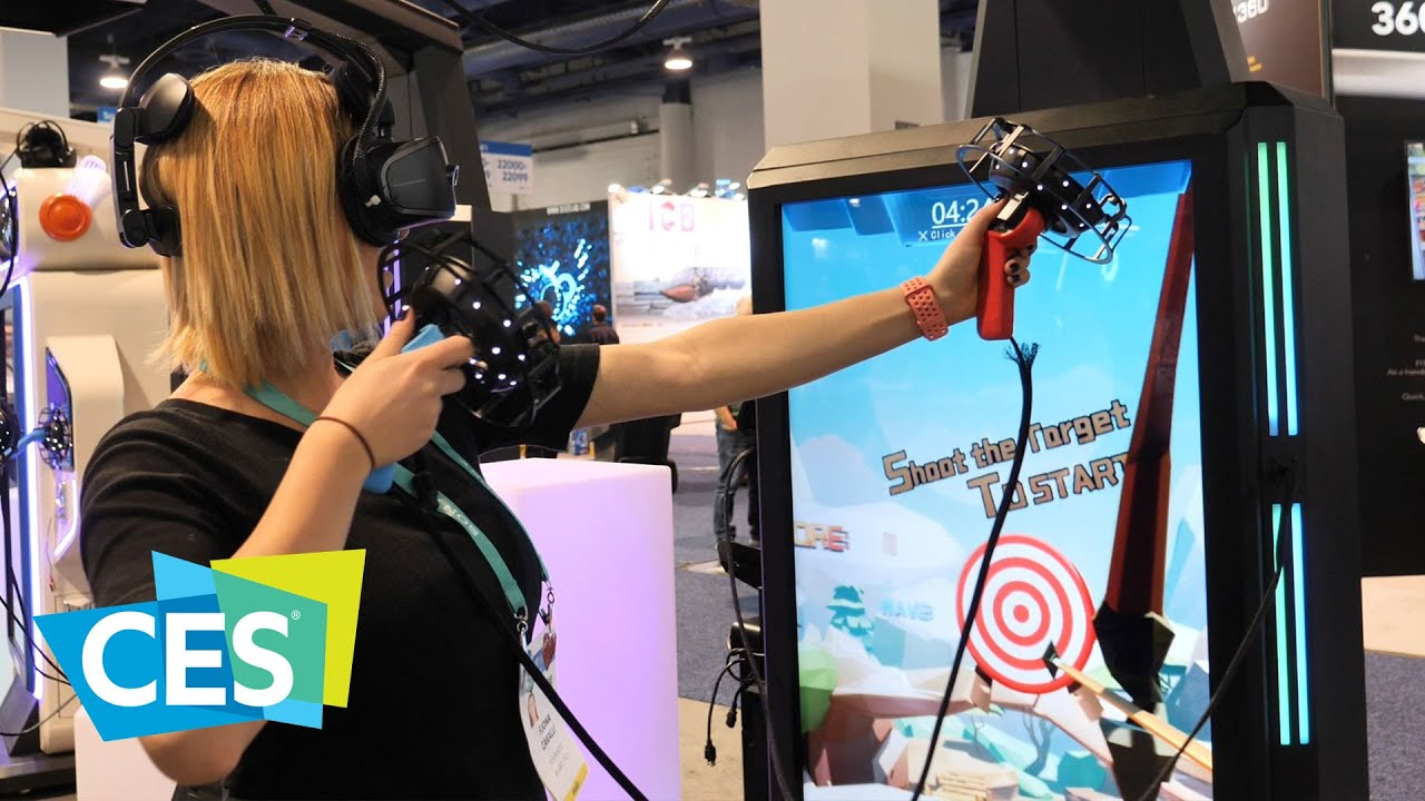 VRLEO: la realtà virtuale diventa un cabinato per sala giochi | CES 2020 thumbnail